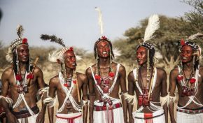 Sexually Free Niger Tribe in courtship ritual to 'steal' other's women