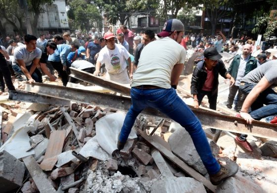 Over 200 People Dead In Central Mexico Earthquake