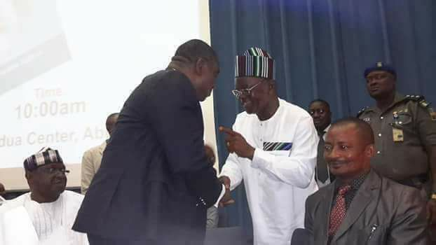Opinion: How Governor Ortom met Ex-Governor Suswam at Abuja Event