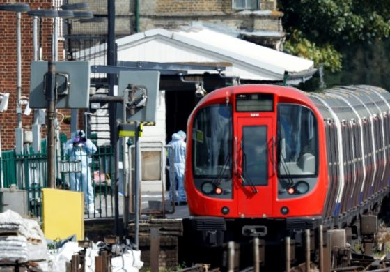 Teenager Arrested Over London Train Attack