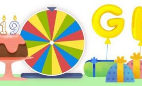 Google is 19 years today with Doodle