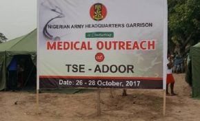 As Malu Goes Home, Nigeria Army Conducts Medical Outreach At Tse Adoor