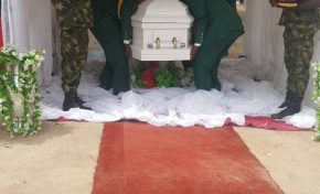 General Victor Malu Finally Laid To Rest