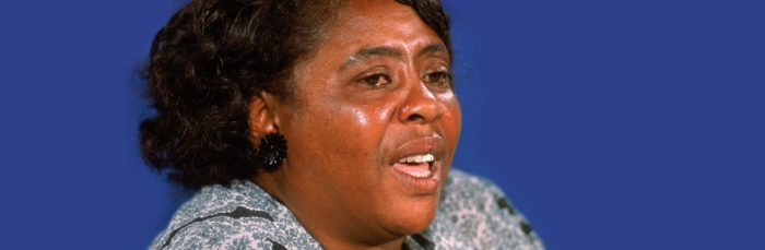 Born Today in 1917, Who is Fannie Lou Hamer?
