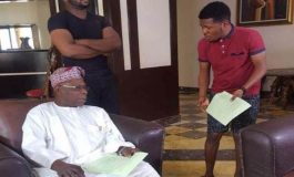 Ex-Nigeria President Obasanjo Turns Actor