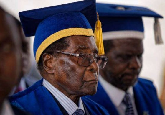 Mugabe Sacked As Leader Of Ruling ZANU-PF Party