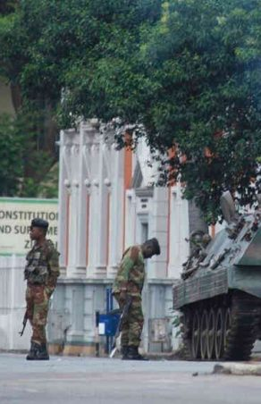 Mugabe 'Confined To Home' After Military Action