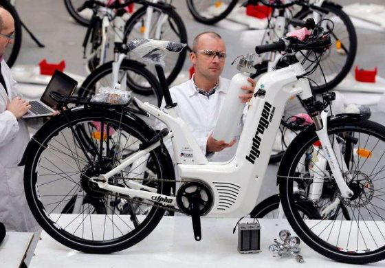 French Startup Launches Hydrogen-powered Bicyles