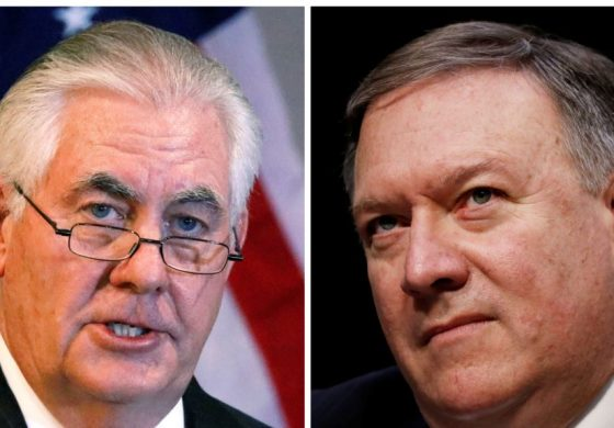 Trump Fires Rex Tillerson Replaces with Pompeo