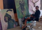 Meet Ver Ikeseh, The Nomadic Artist