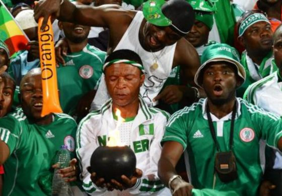 Russia 2018: Nigeria Supporters Stopped From Bringing Live Chicken To Stadium