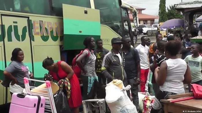 Mass Exodus From Cameroon's English-Speaking Regions