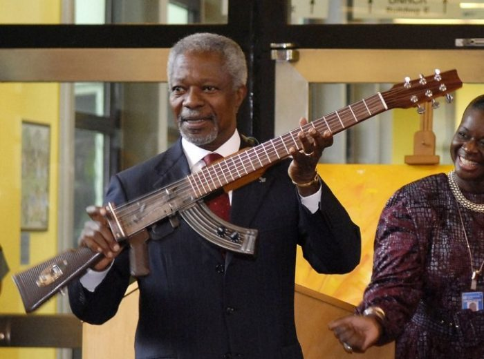 Kofi Annan's Body Returned To Ghana