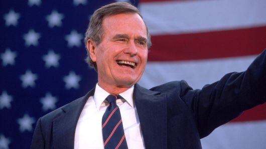 Former US President George HW Bush Dies At 94