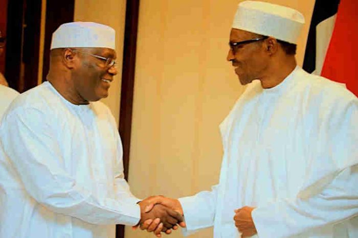 Atiku Meets Buhari To Sign Peace Accord